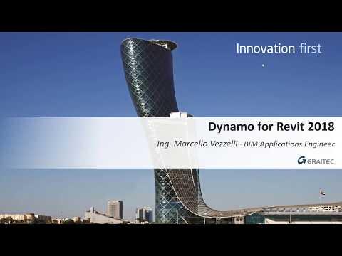 Webinar 20 Giugno 2017 -  Dynamo per Autodesk® Revit®  -  Automatizza il flusso di lavoro