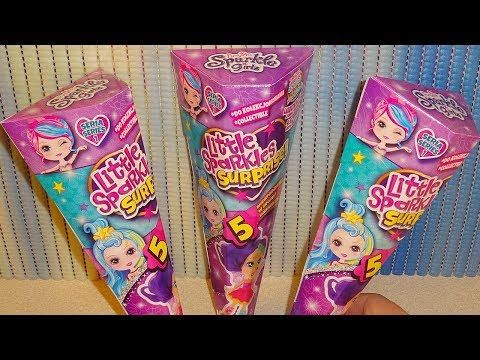 Funville Sparkle Girlz Little Sparkles Surprise Collectible Dolls Mystery Boxes Blind Bags Series 1