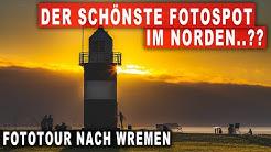 Fotografieren an der Nordsee - Leuchtturm, Sonnenuntergang und Langzeitbelichtungen