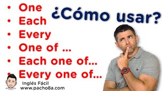 Download lagu Aprende a usar One – Each – Every – One of – Each one of – Every one of – Muy fácil