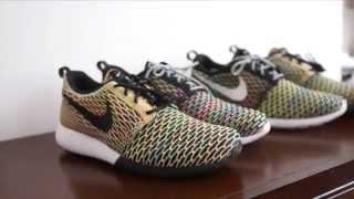 Nike Roshe One Flyknit Multicolor iD Original vs Seasonal (Comparison)