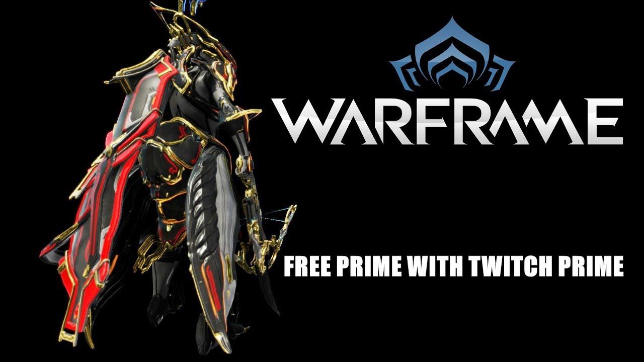 Warframe: Free Prime w Twitch Prime -Trinity Prime and Spektaka Syndana