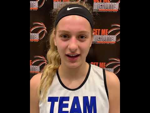 Isabelle Vogel (Team Pennsylvania/Central Dauphin HS/Harrisburg, PA) 2021 5'10 G