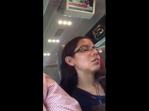 Lolling Head- Train Milan Rome