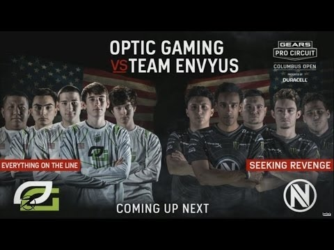 GEARS OF WAR 4 - Optic vs Envyus Grand Finals $300.000 MLG Columbus
