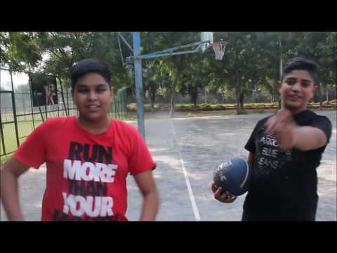 AK13 Basket ball trickshots