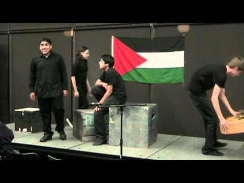 Palestinian Cultural Night - The Gaza Monologues 1 of 2