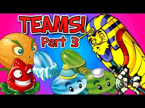 Plants vs. Zombies 2 PHARAOH ZOMBIE vs Team Plants PART 3