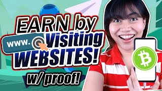 EARN BY VIEWING WEBSITES | w/ proof! BCH via Coinbase! | Coins.ph