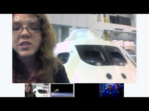 Hangout in the Orion Spacecraft