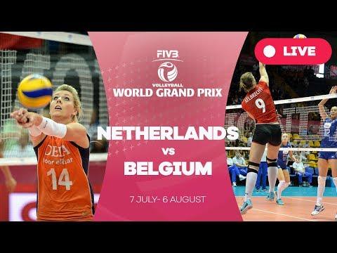 Netherlands v Belgium - Group 1: 2017 FIVB Volleyball World Grand Prix