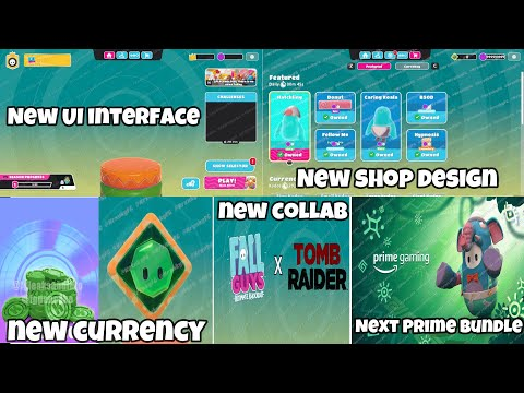 Fall Guys Season 5.friend update Leaks | New UI interface | New shop design | New currency & More |