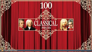 100 Classical Music Pieces - Mozart, Chopin, Vivaldi, Bach, Beethoven.
