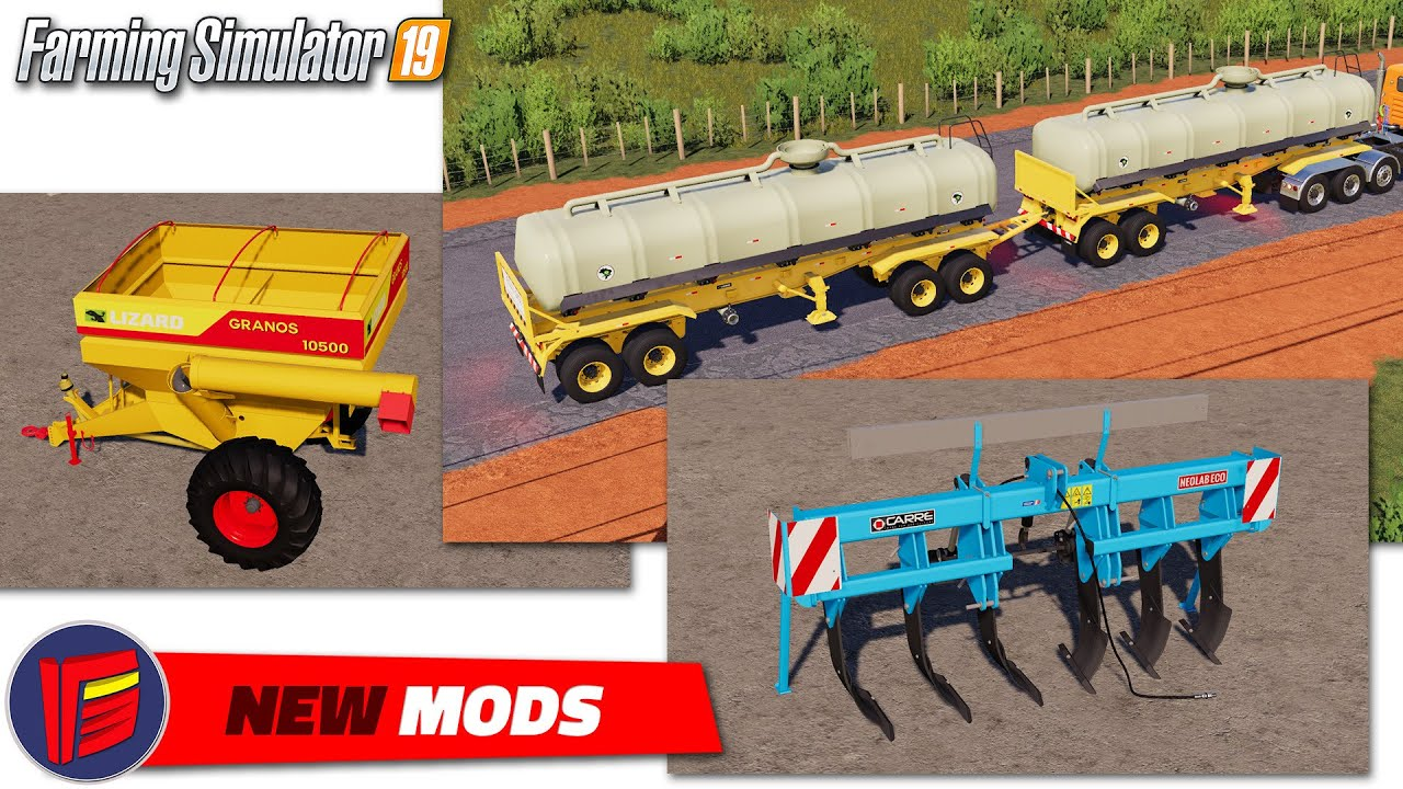 Fs19 New Mods 2020 08 19 Review Youtube