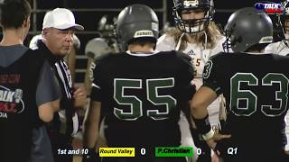 Round Valley vs Phoenix Christian High School Football Full Game Elks vs Cougars