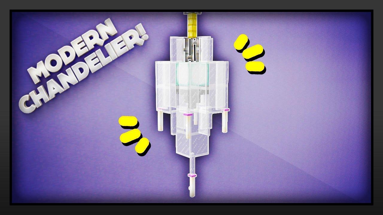 Minecraft How To Make A Modern Chandelier