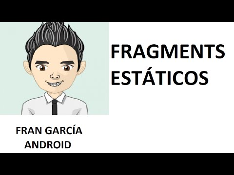 12. Fragments. (Programación Android Studio tutorial español)