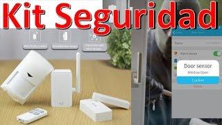 Kit De Alarmas De Seguridad Para Casas BroadLink S1C Alarm Kit Unboxing Español