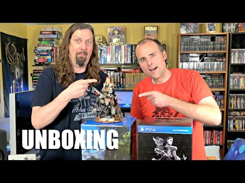 Horizon Zero Dawn Collector's Edition Unboxing With Metal Jesus Rocks!