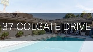 A Desert Retreat with Mountain Views: 37 Colgate Drive, Rancho Mirage, CA 92270