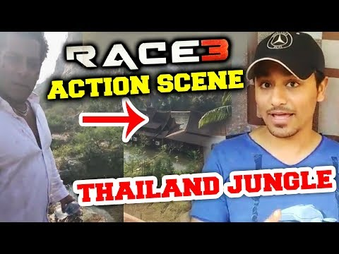 RACE 3 Action Sequence In Thailand Jungle | Race 3 Updates | Salman Khan | Jacqueline