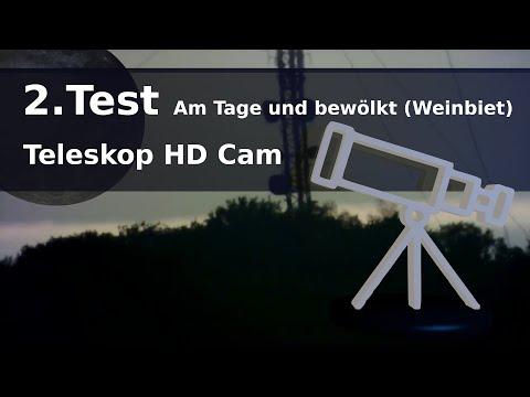 Test 2 / Teleskop HD Cam / Am Tage und bew�lkt (Weinbiet)