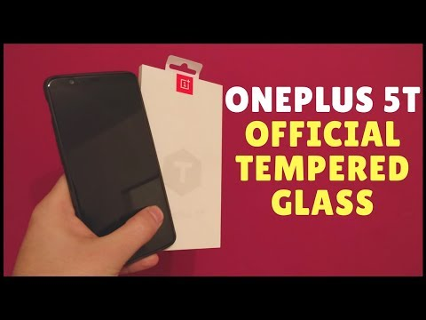 Thumbnail: OnePlus 5T Official Tempered Glass Screen Protector Installation