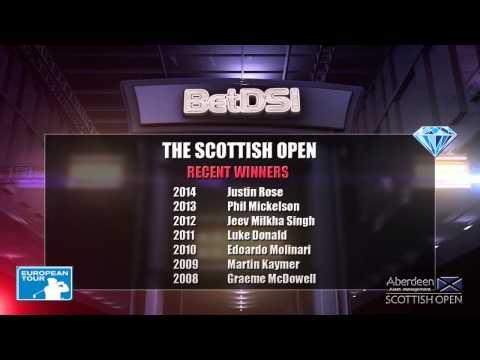Scottish Open Odds