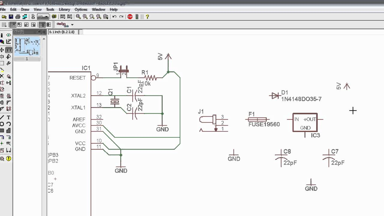 13eagle The Power Supply Design Youtube How To Create An Electrical Diagram Using Integrated Circuit Library