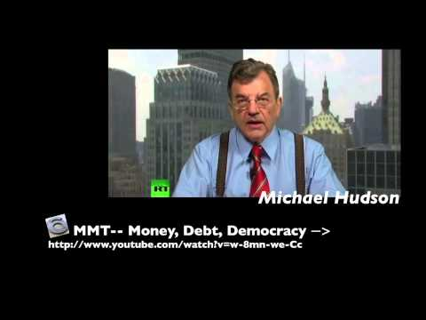 Michael Hudson, Modern Monetary Theory