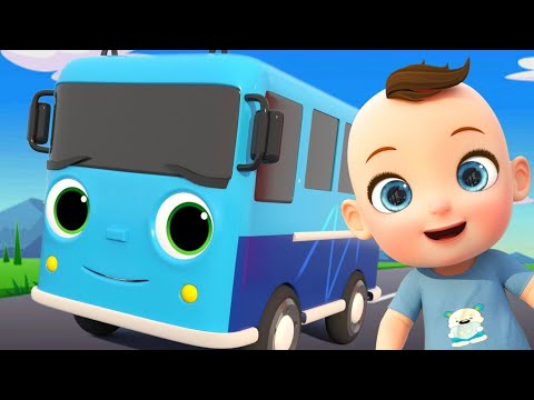 Baby Johny Plays At The Playground - Nursery Rhymes & Kids Songs - Minibus