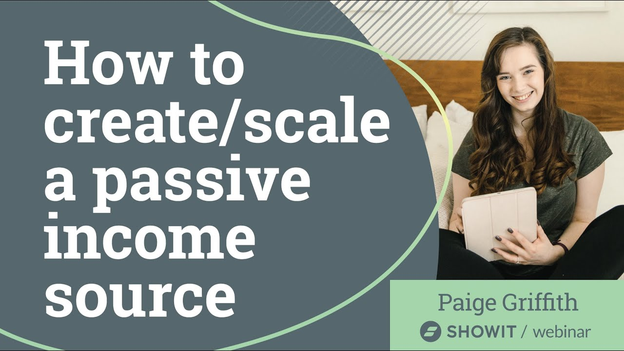 How to Create and Scale a Passive Income Source