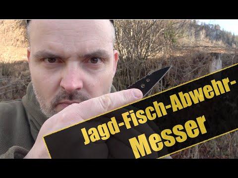 Das Survival-Jagd-Fisch-Tierabwehr-Messer | Survival Messer