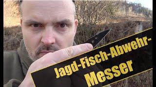 Das Survival-Jagd-Fisch-Tierabwehr-Messer? | Survival Messer