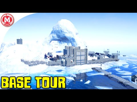ARK: Survival Evolved - AusArk Base Tour w/ Tribe Jotunheimr