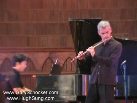 Gary Schocker and Hugh Sung play Hindemith Flute Sonata