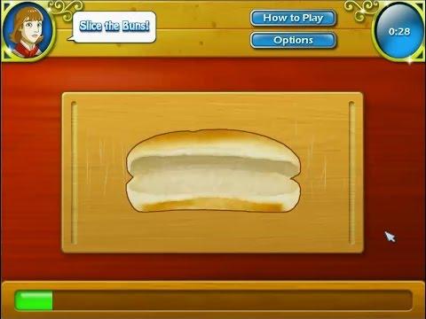 เกมส์ทำอาหาร ขนมปังฮอทดอก - Hot Dog Cooking Game 핫도그,ホットドッグ