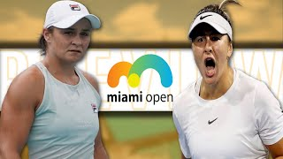 Ashleigh Barty vs Bianca Andreescu Miami Open 2021 Final | PREVIEW