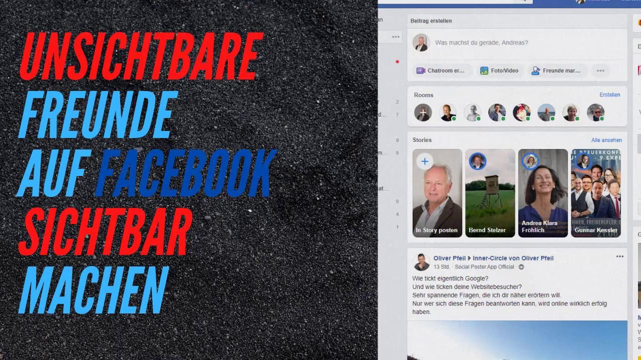 Facebook Unsichtbare Freunde
