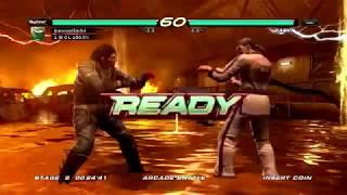Tekken 6 (Xbox 360) Arcade Battle as Dragunov