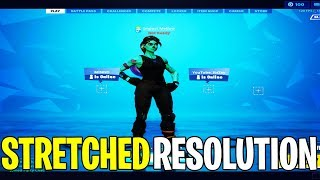 How To Play STRETCHED RESOLUTION in Fortnite Season 10 (After Patch)