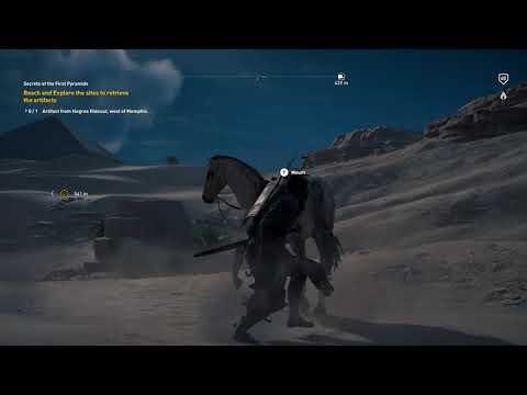 AssAssinS CreeD OriGinS:  Bayek the Explorer  into the Tomb of Sneferu