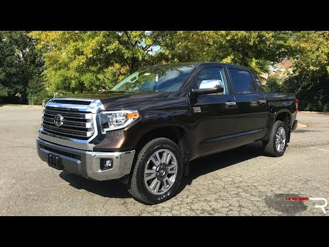 2018 Toyota Tundra 1794 Edition Redline Review