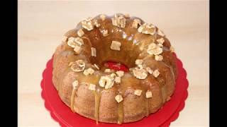 ореховый кекс с яблоками и карамелью/термомикс/Apfel Karamel Kuchen TM5