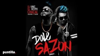 Dj Unic - Dale Sazon - feat Djkeypo y Chacal (Audio Cover)
