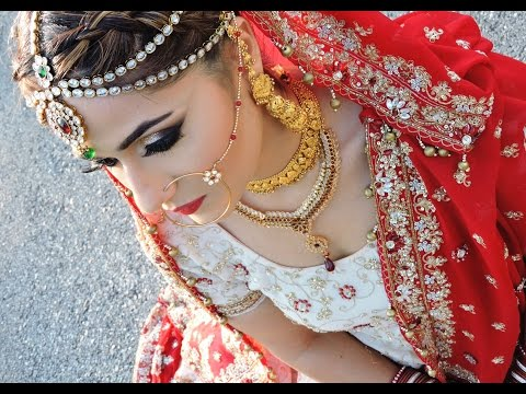 Asian/ Pakistani/Indian Bridal Glam Makeup Tutorial