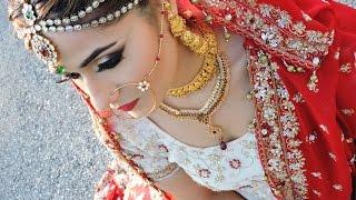 asian pakistani indian bridal glam makeup tutorial