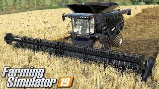 Żniwa kombajnem Fendt Ideal - Farming Simulator 19 | #97