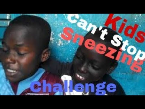 Can't Stop Sneezing Challenge (Try Not To Laugh Or Grin Challenge Impossible)