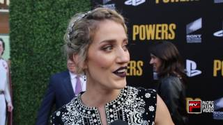 Teri Wyble says Season 2 of Powers is bigger better and more chaos